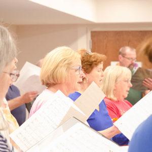 Adult Choir I Rehearsal